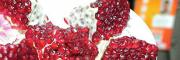 籽呈紫红色#软籽石榴颜色怎么样?