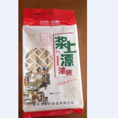 会泽豆腐皮价格多少钱一斤?豆皮新食用方法?厂家直销豆腐皮(附图)