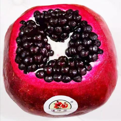 宜宾黑籽甜石榴苗-滇泽王 新品种黑美人石榴树苗 黑籽石榴苗价格表